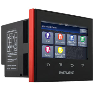 Zesta Watlow D4T with INTUITION Data Logger