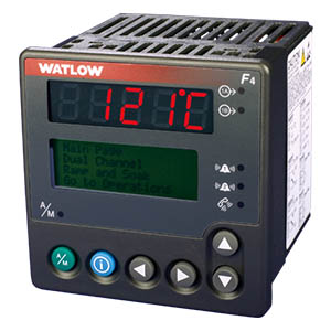 Watlow F4 1/4 DIN Temperature Process Controllers